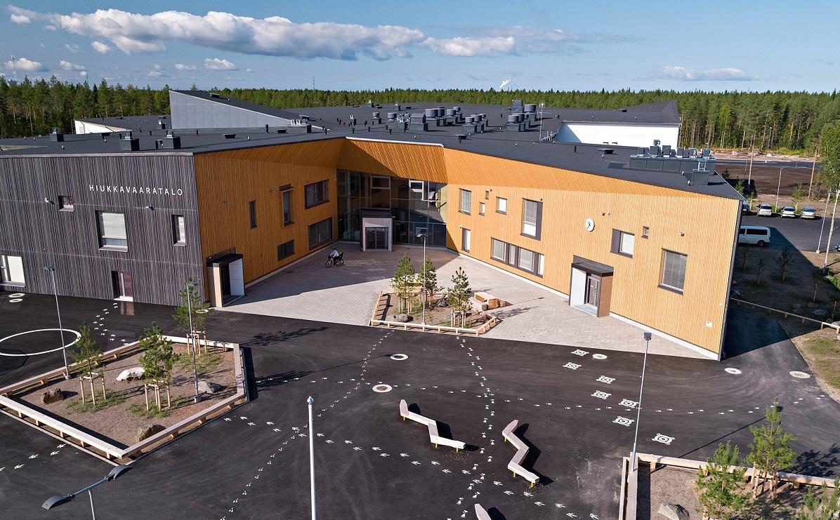 Etusivu - Hiukkavaaratalo - Oulun kaupunki