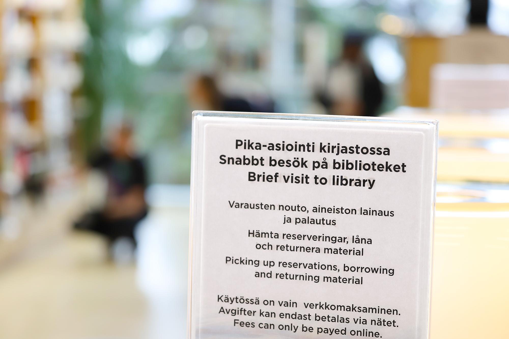 Kirjastokortti Oulu