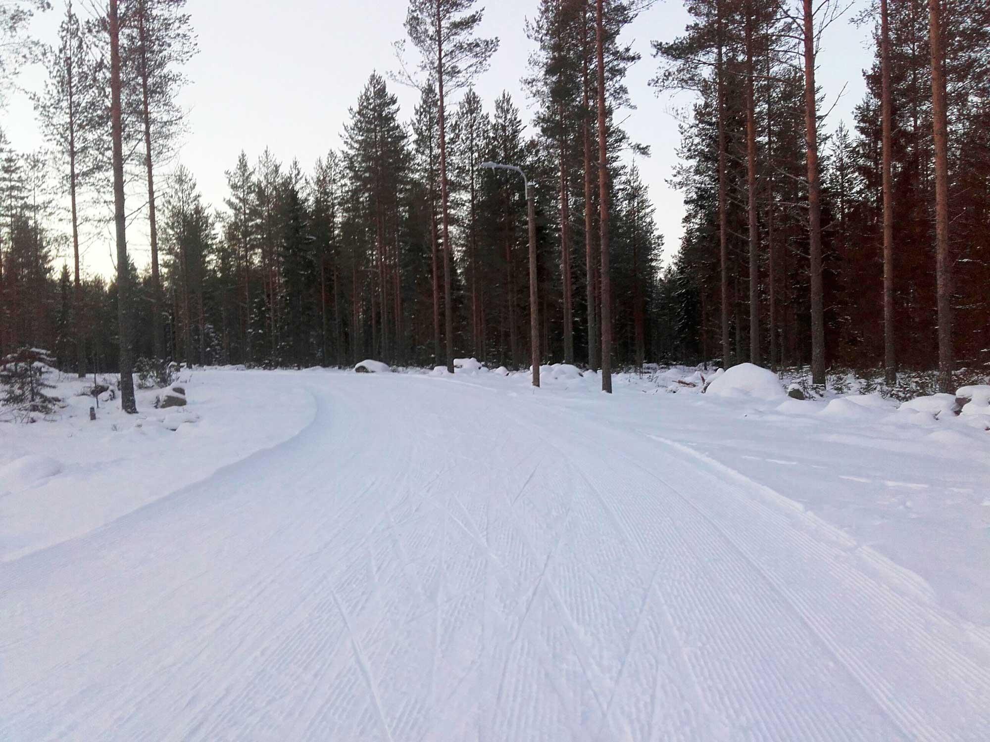 Jaali Honttamaki Latu On Valmis Ajankohtaista Oulun Kaupunki