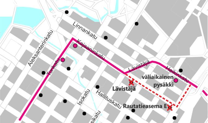 Linjat 9 Ja 34 Poikkeusreitilla Torstaista 18 5 2017 Alkaen