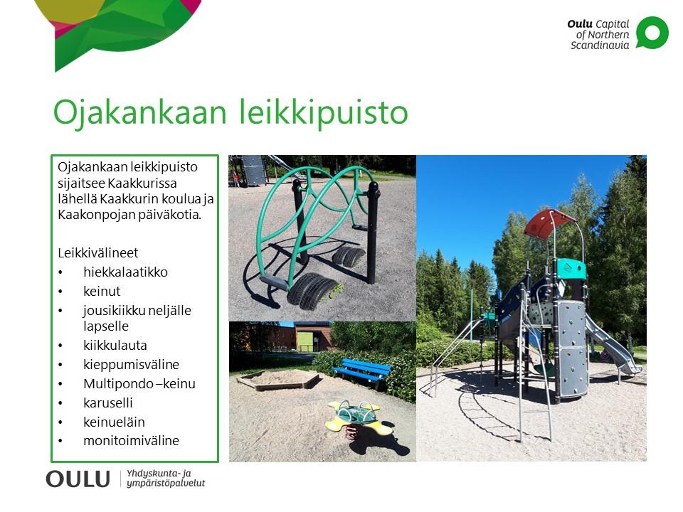 Leikkipuistot Ymparisto Ja Luonto Oulun Kaupunki