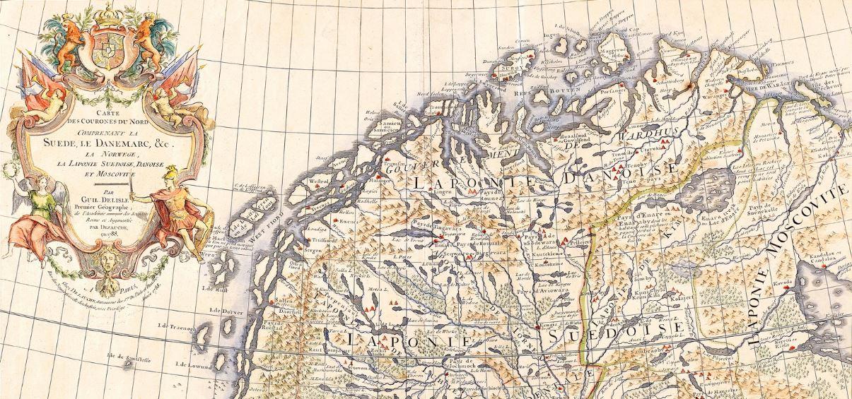 Unelma Jaameresta Petsamo Kartoissa Tulevat Tapahtumat